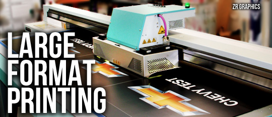 zr graphics large format printing flat bed printing wall